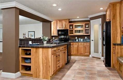 built in kitchen cabinets chion redman modular and mobile homes mobile home 4988