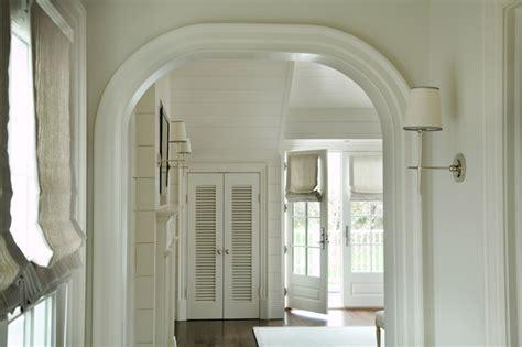 curved door molding cottage bedroom barbara waltman