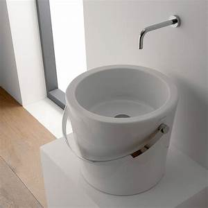 Aufsatzwaschbecken 30 Cm Tief : aufsatzwaschbecken sanit r und armaturen einebinsenweisheit ~ Indierocktalk.com Haus und Dekorationen