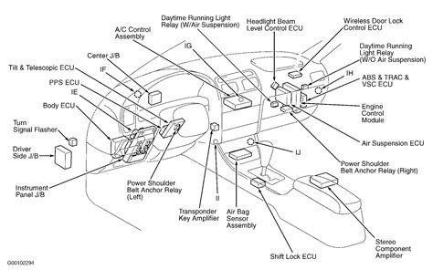 Lexu Rx330 Engine Diagram by 00 Lexus Rx300 Engine Diagram Wiring Diagram Database