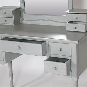 Coiffeuse Meuble Moderne : meuble coiffeuse original accueil design et mobilier ~ Teatrodelosmanantiales.com Idées de Décoration