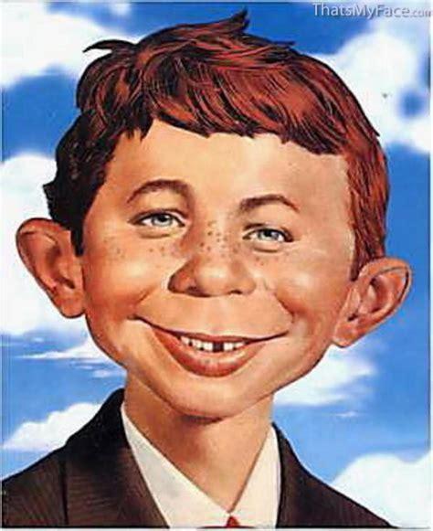 Alfred E. Neuman 3D Face   ThatsMyFace