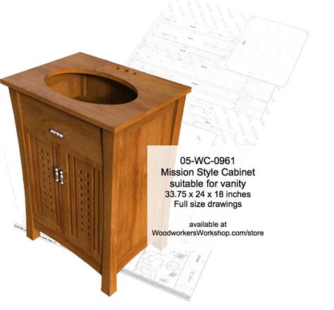 mission style cabinet woodworking plan woodworkersworkshop