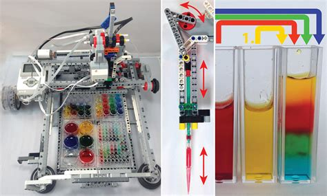 adapting  diy robot kit  fill test tubes stanford news