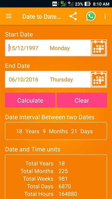 date calculator android apps google play