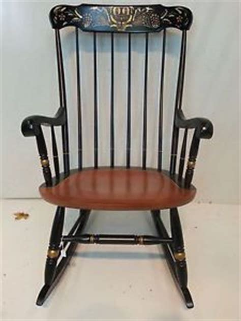 hitchcock connecticut rocking chair 1000 images about hitchcock furniture on side