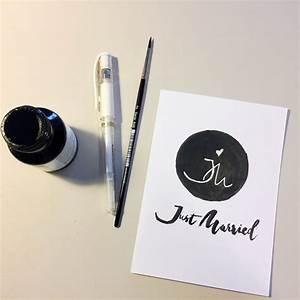 Wie Kann Man Wände Gestalten : wie man ein monogramm gestalten kann daraus eine karte macht creatipster ~ Sanjose-hotels-ca.com Haus und Dekorationen