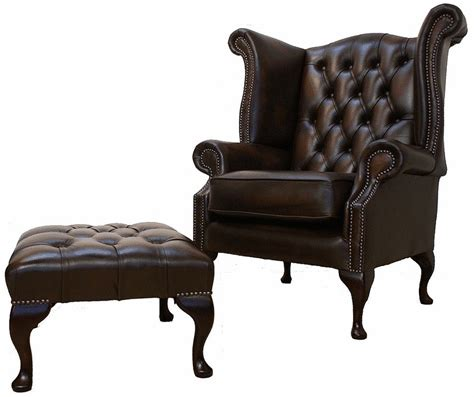 chesterfield offer high back wing chair