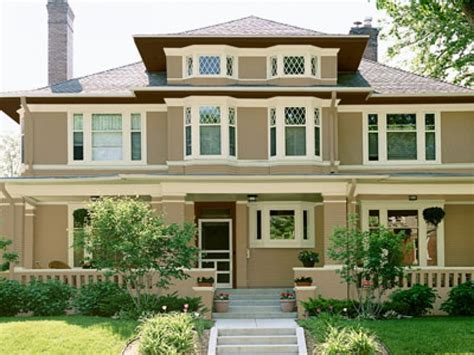 White Brick Houses, Exterior Paint Color Combinations