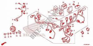 Wire Harness  Nbc110kdf  Mdf  Mcd  For Honda Dream 110 Ex5