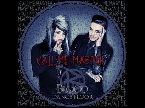 blood on the dance floor call me master lyrics