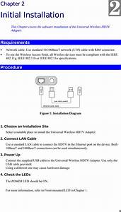 Belkin F7d4555v1 Universal Wireless Hdtv Adapter Travel
