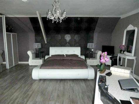 chambre baroque noir et blanc déco chambre baroque romantique