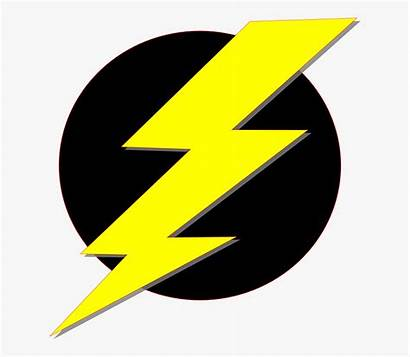 Bolt Lightning Clipart Electric Yellow Electricity Symbol