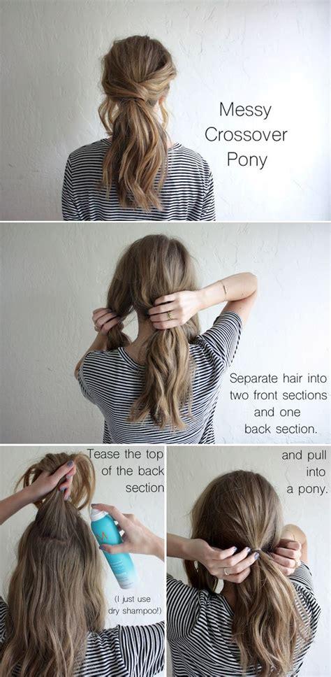 amazing ponytail hair tutorials  beginners pretty