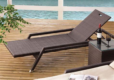 gartenmöbel geflecht wetterfest polyrattan relaxliege bestseller shop mit top marken