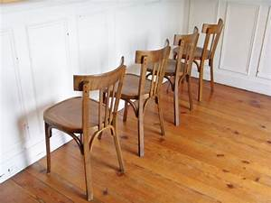 Chaise De Bistrot Bois : chaise bois baumann de bistrot style and steel jpg chaises tabourets lampes luminaires ~ Teatrodelosmanantiales.com Idées de Décoration