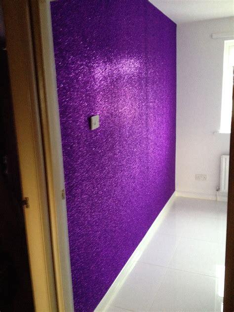 Wand Streichen Ideen Lila by Purple Glitter Wall Beautiful Walls Flooring Ideas