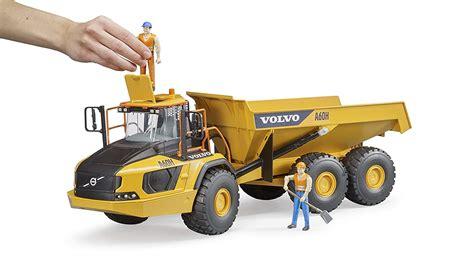 volvo bruder toys partner   scale volvo hauler