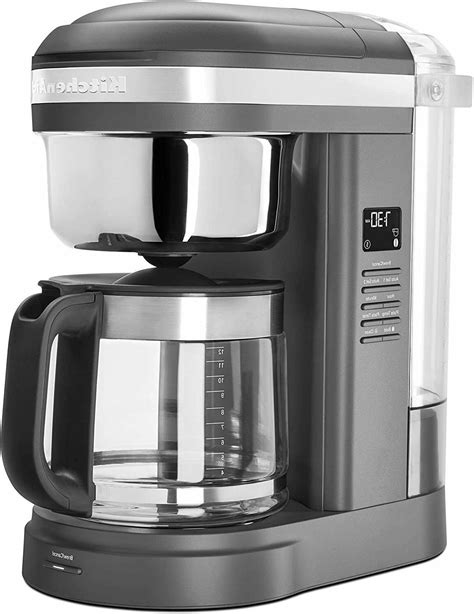 Coffee steam espresso and cappuccino maker. KitchenAid 12-Cup Drip Coffee Maker with Spiral Showerhead