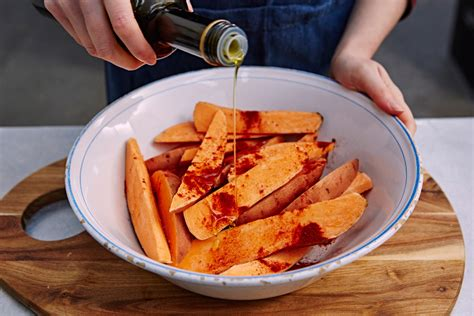 how to make a sweet potato how to make sweet potato fries features jamie oliver