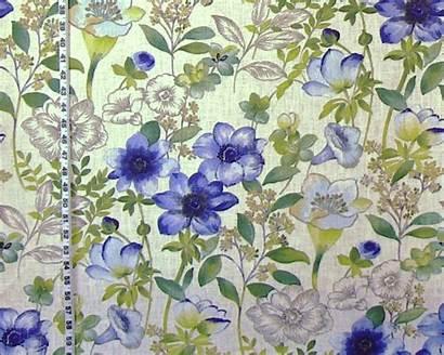 Fabric Floral Meadow Fabrics Century Mid Anemone