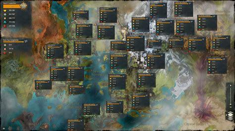 bureau wars gw2 map completion guide clubmotorseattle