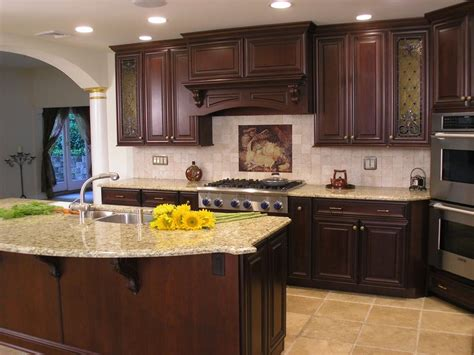 kitchen ideas with cherry cabinets give unique look to your kitchen with kitchen ideas cherry