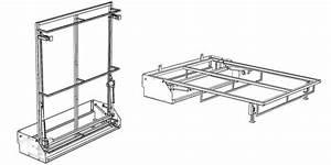 Mécanisme Lit Escamotable : m canisme lit escamotable sofag ~ Farleysfitness.com Idées de Décoration