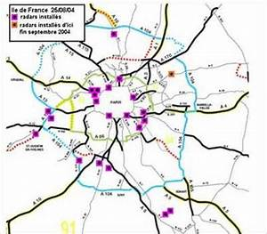 Liste Des Radars : la carte des radars fixes en ile de france ~ Medecine-chirurgie-esthetiques.com Avis de Voitures