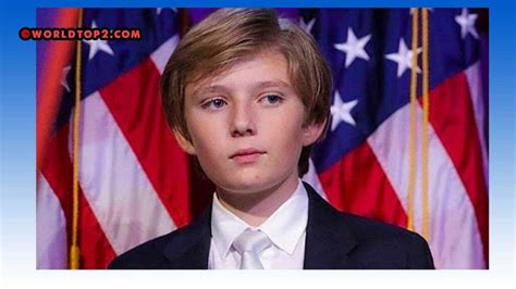 trump barron age worth donald son biography his youngest president wiki bio facts