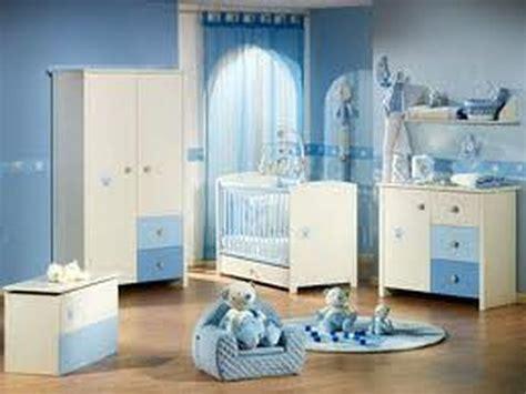Photo Décoration Chambre Bébé-garçon-bleu