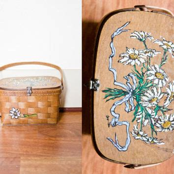 vintage wooden purse products  wanelo
