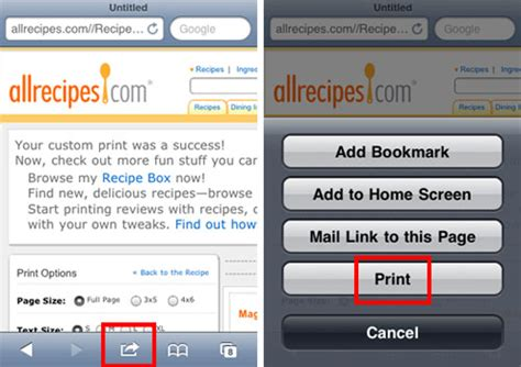 how to set up airprint on iphone where is airprint on my iphone the iphone faq