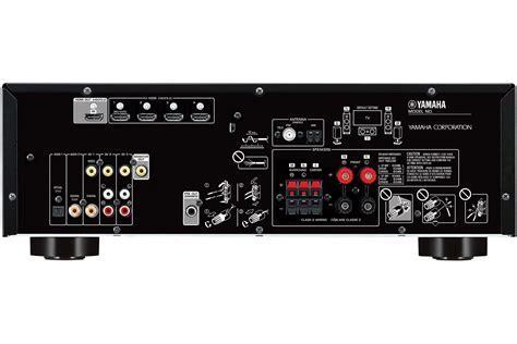 Yamaha Black 5.1 Channel Network AV Receiver   RX V383BL