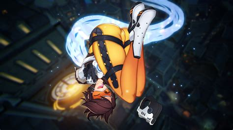 Anime Style Wallpaper - 2560x1440 overwatch tracer anime style