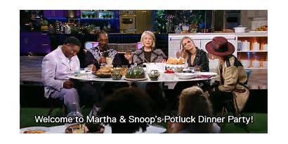 Martha Snoop Dinner Party Potluck Gifs Stewart