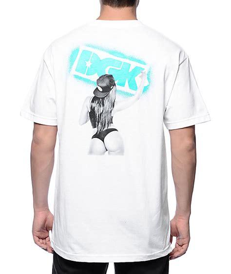 Dgk Get Up White Tshirt