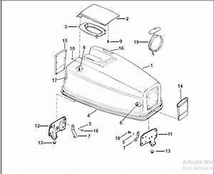 2004 Johnson Evinrude 40hp 50hp Pl 2 Stroke Parts Catalog