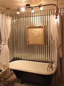 attractive clawfoot tub bathroom ideas 2 corrugated