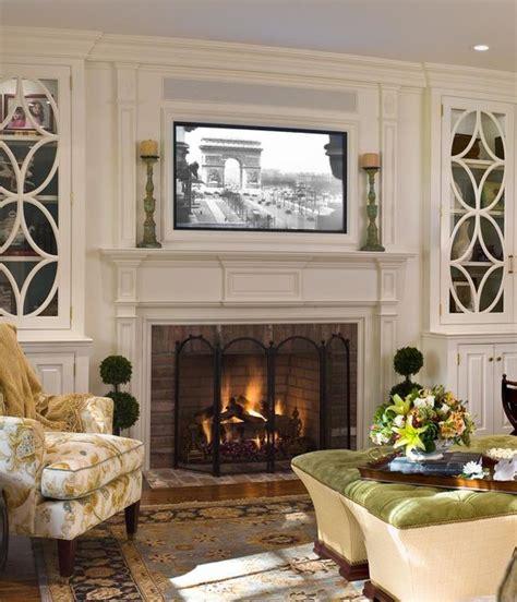 placing  tv   fireplace     dont