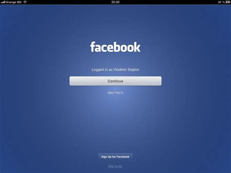 Log Out From Facebook Like In Native App