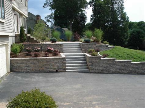 front yard steps remarkable retaining wall ideas improve the beauty of your front yard traba homes