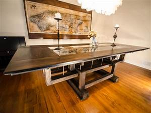 Hand, Crafted, Custom, Industrial, Contemporary, Eclectic, Dining, Table, By, Interactive, Dezigns