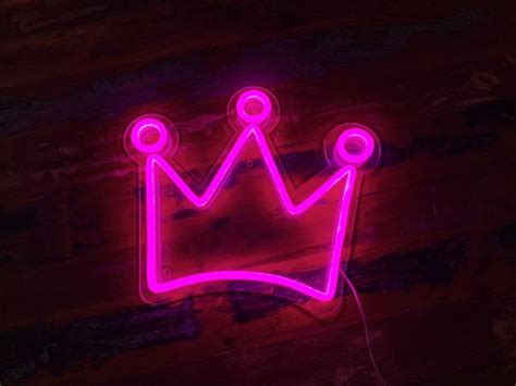 Aesthetic Neon Lights Wallpaper by Crown Led Neon Sign Neon Mfg