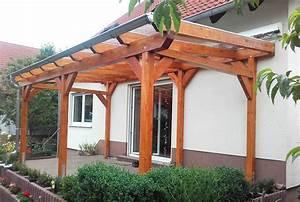 Garten überdachung Holz : terrassen berdachung freistehend aus holz online bestellen ~ Articles-book.com Haus und Dekorationen
