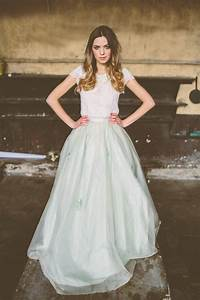 rock the frock an incredible wedding showcase wedding With skirt and top wedding dress