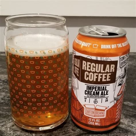Regular coffee might have variations depending on the country you live in. Regular Coffee - Carton Brewing Company - Untappd