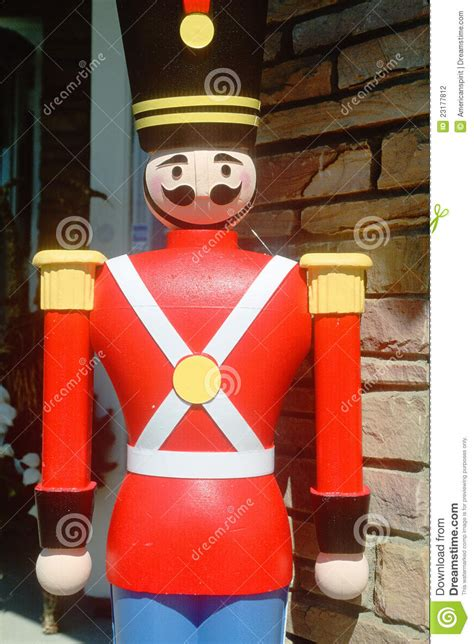 wooden soldier stock photo image  america color