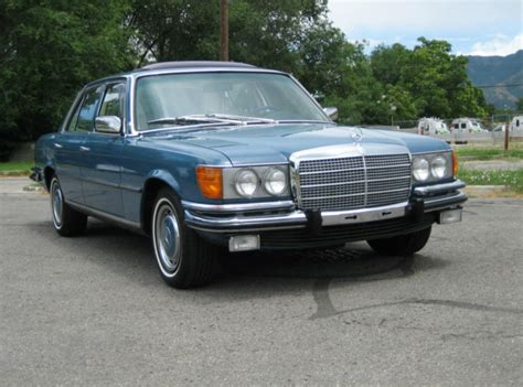 Understated and beautifully engineered the car was the choice of racing drivers, dictators and movie start. 1973 Mercedes-Benz 450SE - German Cars For Sale Blog